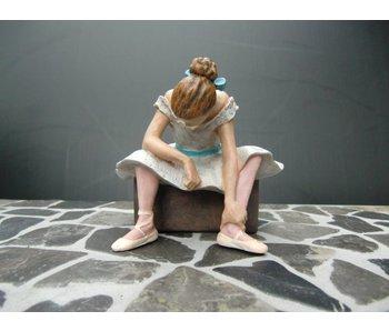 Mouseion l'attente, danseres, ballerina van Edgar Degas