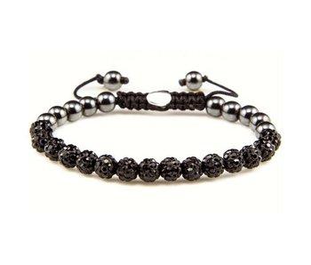 Karma Bracelet Black Crystal XS