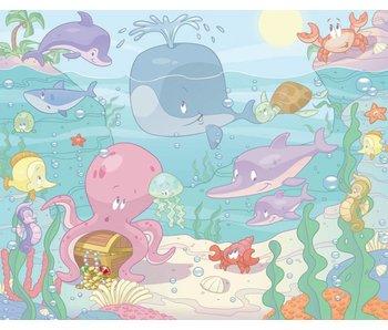 Walltastic Babykamer behang - Onderwaterkamer XXL (laatste ex.)