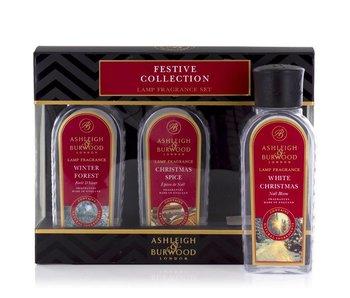 Ashleigh & Burwood Festive Kollektion Weihnachten 3 Flakons