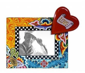 Toms Drag Bilderrahmen Love mit Herz - S