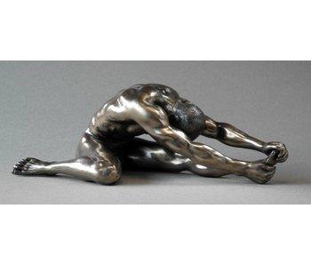 BodyTalk Bodybuilder beeld  mannelijk naakt - stretching
