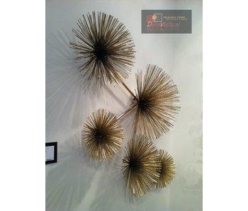 C. Jeré - Artisan House Escultura de pared Urchin (Pom Pom)