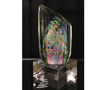 Glasskulptur Abstrakt Fantasy-Objekt