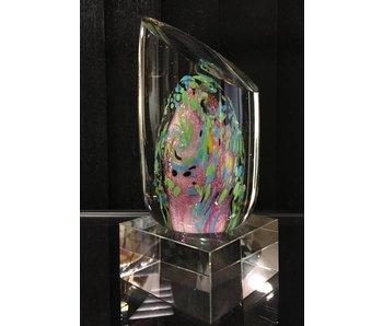 Objeto de fantasía abstracta de vidrio