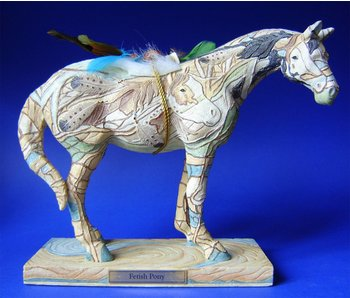 Trail of Painted Ponies Fetish Pony, retired Pony statue - L