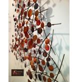 C. Jeré Attraction, metalen wanddecoratie in 3D,  wandversiering  C. Jeré - Artisan House