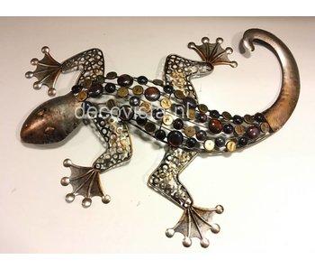 Wanddecoratie gekko, reptiel, hagedis