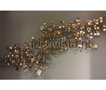 C. Jeré Escultura de pared Firmament 2 piezas