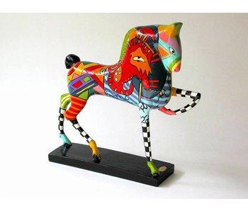 Toms Drag Paard, zonnepaard sculptuur