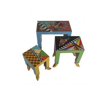 Toms Drag conjunto de mesa de 3 piezas
