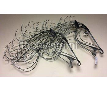 C. Jeré - Artisan House Gallop, wall scultpure Horses