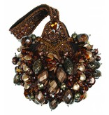 Mary Frances Bomb Shell - Mary Frances handbag / minibag / evening bag / clutch