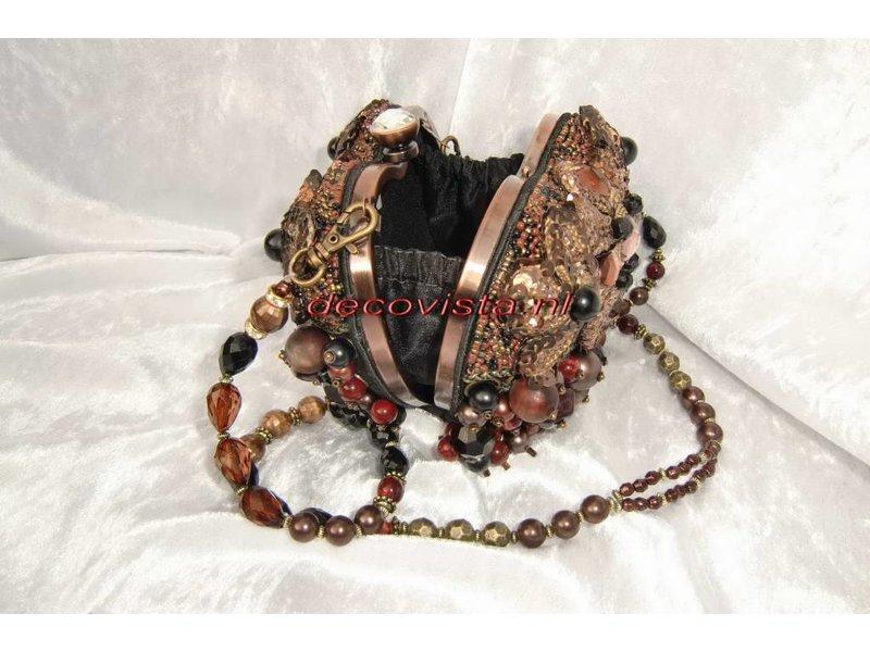 Mary Frances Crown Royal - Mary Frances handbag / minibag / evening bag / clutch