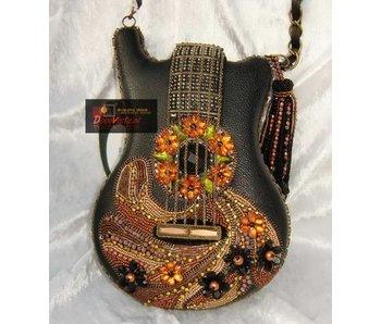 Mary Frances Groupie - mini handtas gitaar