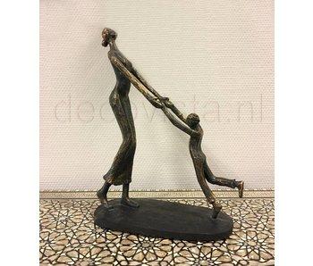 Skulptur Kindheit