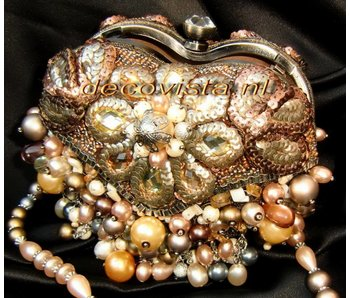 Mary Frances Mini Tasche -Take Heart