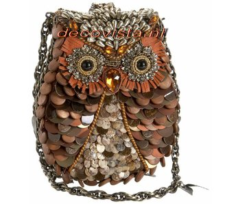 Mary Frances Abendtasche Eule-design