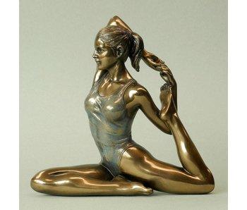BodyTalk Yoga-figur  Eka pada Rajahapitasana