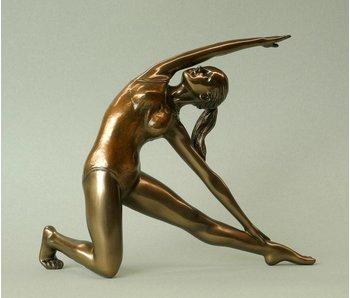 BodyTalk Yoga figurine woman  Utthia Trikonasana