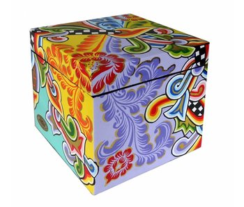Toms Drag Vierkante doos met deksel