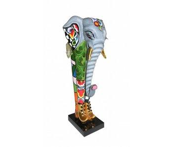 Toms Drag Olifanten beeld Constantine - S