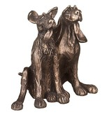 Frith Sculptuur twee  honden Tom en Fred