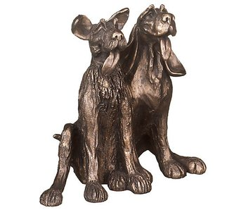 Frith Sculptuur bevriende honden