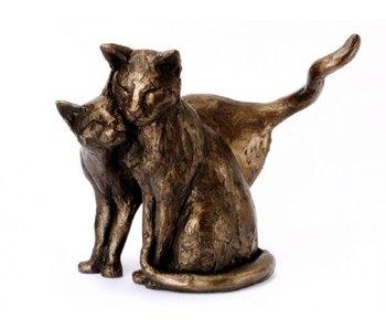 Frith Escultura  gatos -  Making Friends