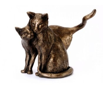Frith Skulptur  Katzen -  Making Friends