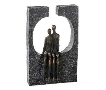 Casablanca Deco-Art Skulptur Zusammengehörigkeit