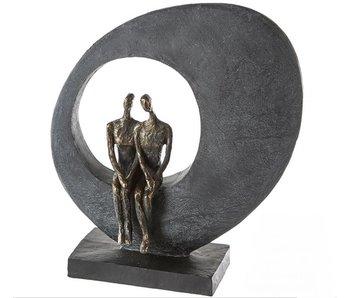 Casablanca Deco-Art Sculpture Side by Side