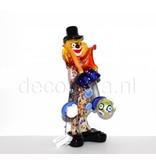 Vetri di Murano Clown   Murano glass