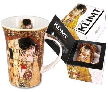 Carmani Mug, bone china - The Kiss by Gustav Klimt