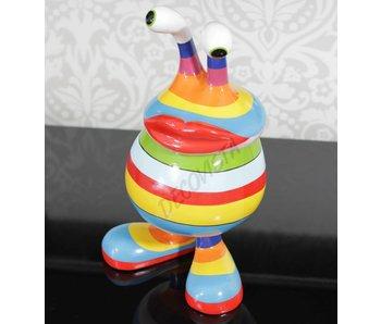 Niloc Pagen Cesta de labios, Lip basket, Rainbow, size M