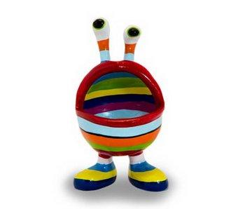 Niloc Pagen La boca labio, Diseño del arco iris