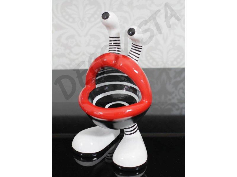 Niloc Pagen Lip Mouth, design B&W - M