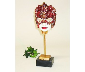 Baroque House of Classics Venetian mask in baroque style