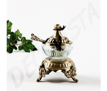 Baroque House of Classics Spice jar with spoon