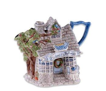 Teapot Bluebirds Teahouse