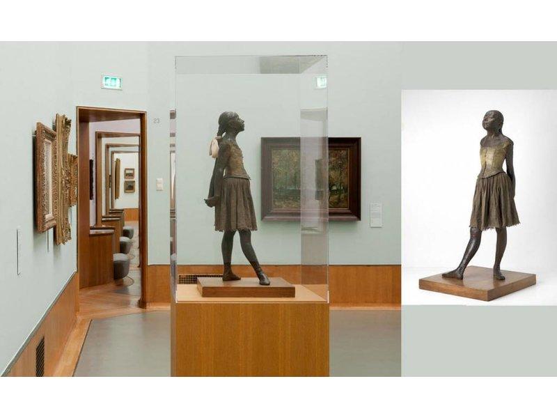 Mouseion Petit Danseuse de quatorze ans, Edgar Degas - het kleine danseresje - 36 cm