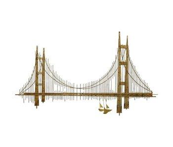 C. Jeré Wall  sculpture  Bridge