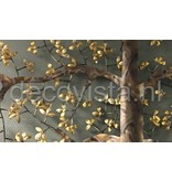 C. Jeré wanddecoratie zomereik, boomsculptuur