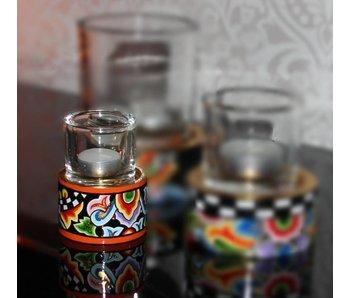 Toms Drag Teelichthalter mit Glas - SS (LETZTE)