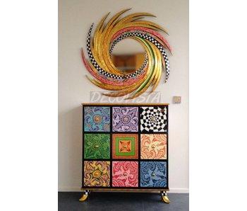 Toms Drag Cabinet, Kommode mit 9 Schubladen