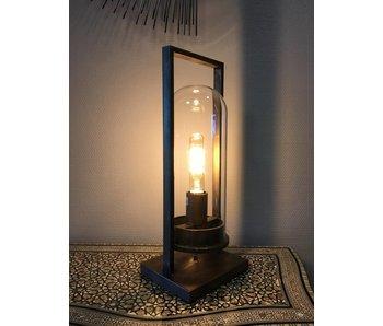 Dutch-LL Lantern lamp Cage - antique bronze - L