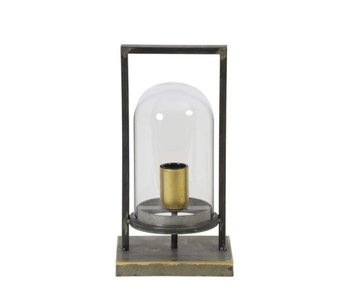 Dutch-LL Lantern lamp Cage - antique bronze - M