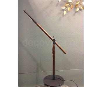 Moos Lámpara de mesa o lámpara de mesa Slim Blutas, LED