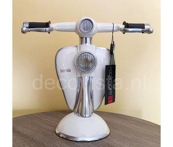 Tafellamp  Lambretta scooter wit