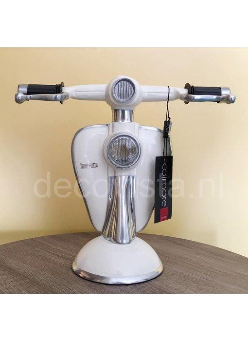 Tischlampe Lambretta Roller cremeweiß